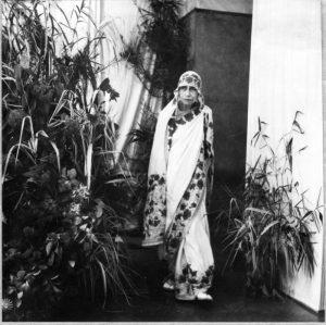 Beautiful pic of The Mother of Sri Aurobindo Ashram
