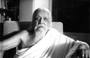 sri aurobindo in his room, sri aurobindo